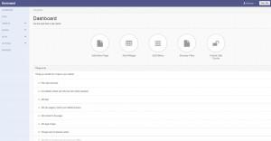 Kommand-CMS-Dashboard