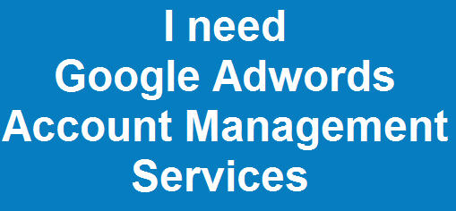 Google AdWords Account Managed Services